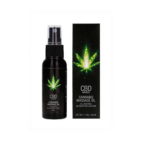CBD - Cannabis massageolie 50ml