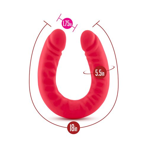 ruse-silicone-double-headed-dildo-red