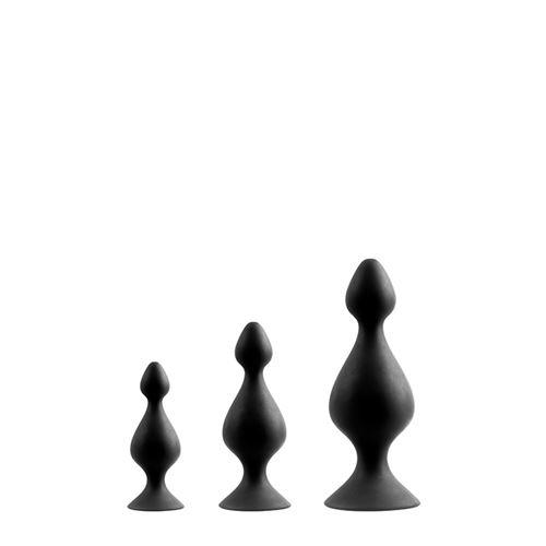 Menzstuff 3-delige anaalplug set