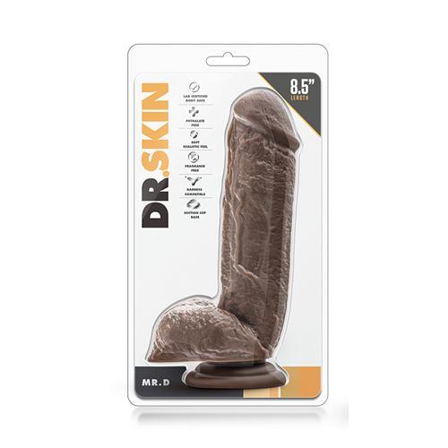 Dr. Skin realistische dildo Mr. D 21 cm