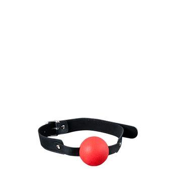 Siliconen ball gag