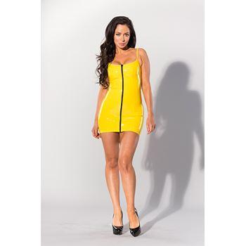 Datex jurkje met rits (geel)