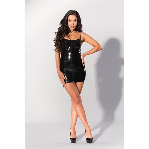 Datex jurk met rits aan voorkant