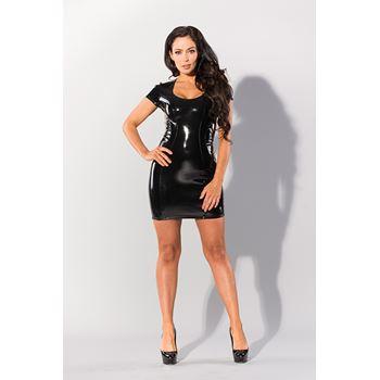 Datex korte jurk met decolleté