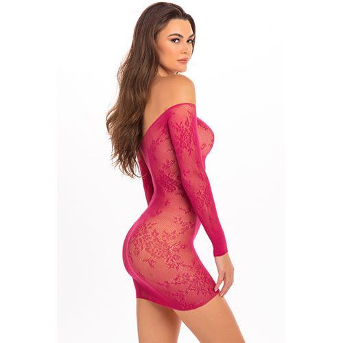 open-season-off-shoulder-dress-pink-ml