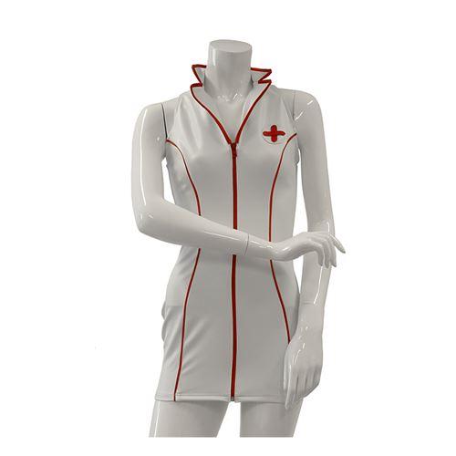 Datex verpleegsterjurk wit