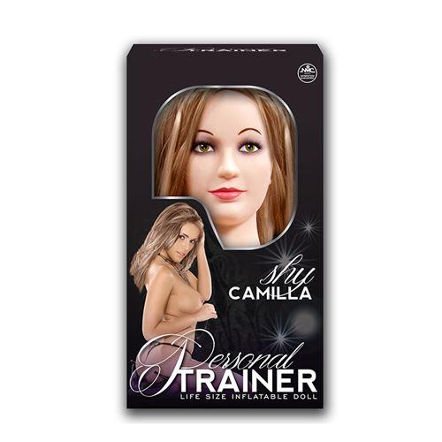 Camilla opblaaspop met masturbator