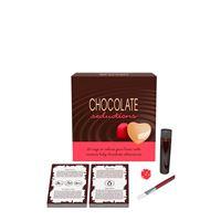 Kaartspel chocolade bodypaint