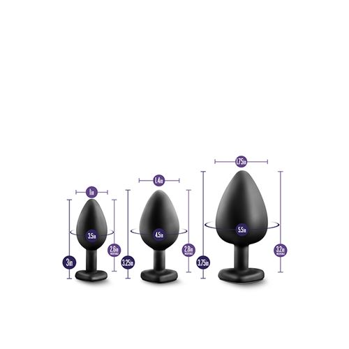 luxe-bling-plugs-training-kit-black