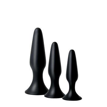 Siliconen anaalplug set Adam & Eve