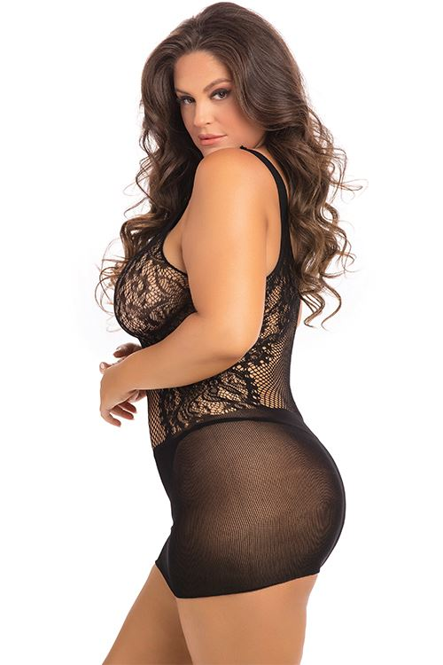 lace-fantasy-mini-dress-black-plus-size