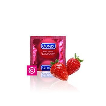 Durex Taste me Aardbei Condooms 12st