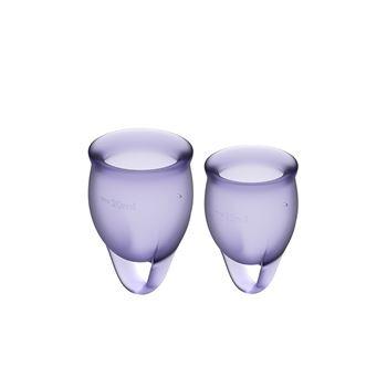 Satisfyer Feel Confident Menstruatie Cup Set 15 & 20 ML