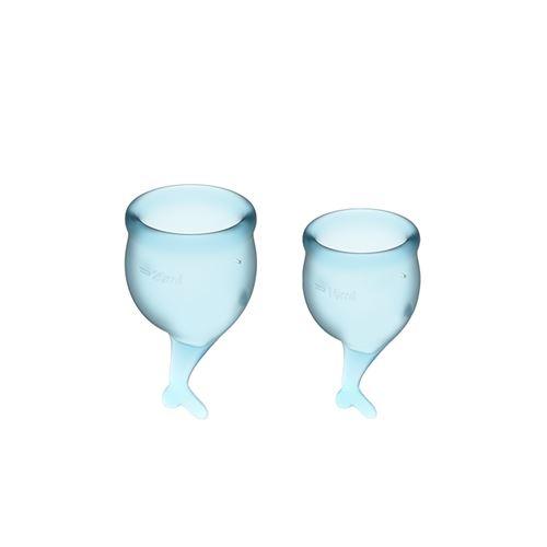 Satisfyer Feel Secure Menstruatie Cup set 15 & 20 ML