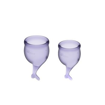 Satisfyer Feel Secure Menstruatie Cup set 15 & 20 ML