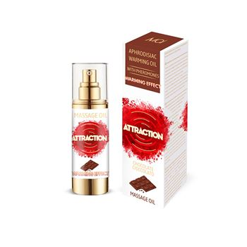 Mai feromonen massageolie verwarmend chocolade 30 ml