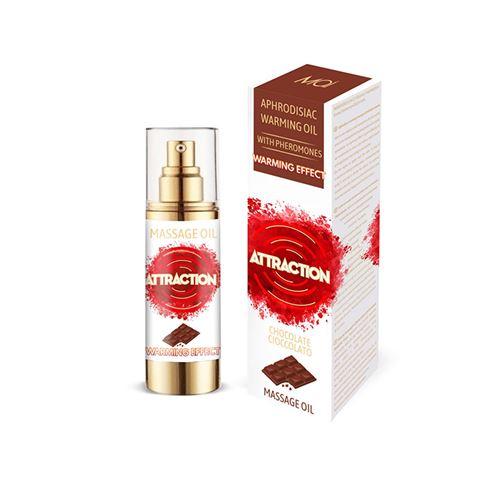 Image of Mai feromonen massageolie verwarmend chocolade 30 ml