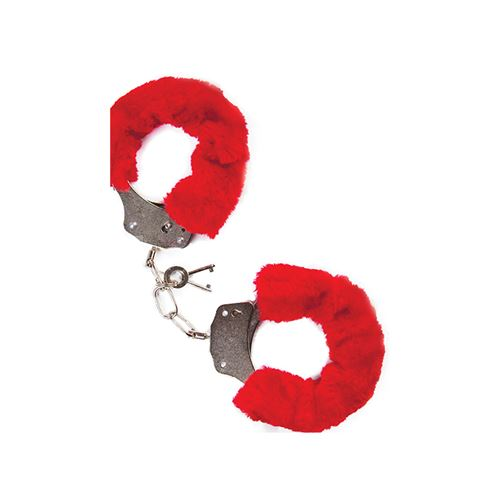mai-no.38-metal-furry-handcuffs-red
