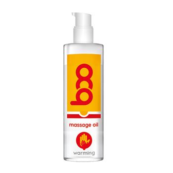 Boo verwarmende massageoilie 150 ml