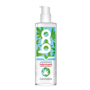 Boo Cannabis glijmiddel op waterbasis 150 ml