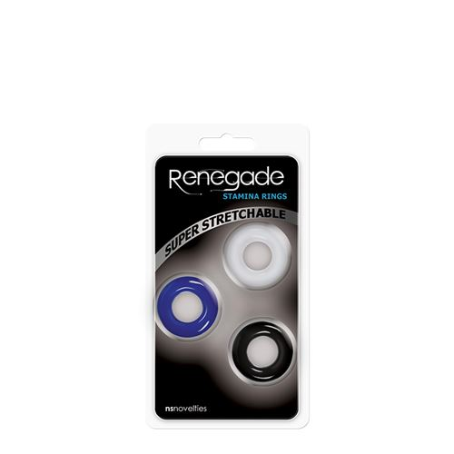 Stamina penisringen Renegade set van 3