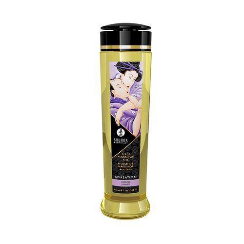 Image of Erotische massageolie Sensation lavendel