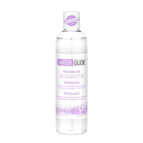 Waterglide tintelend glijmiddel 300 ml