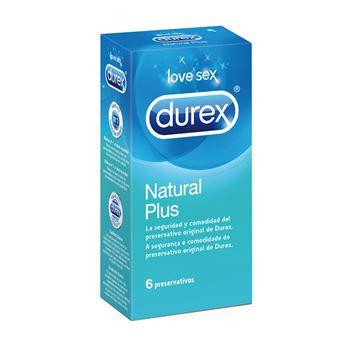 Durex Natural Plus 6 condooms