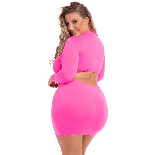 stop-stare-2pc-skirt-set-pink-3xl4xl
