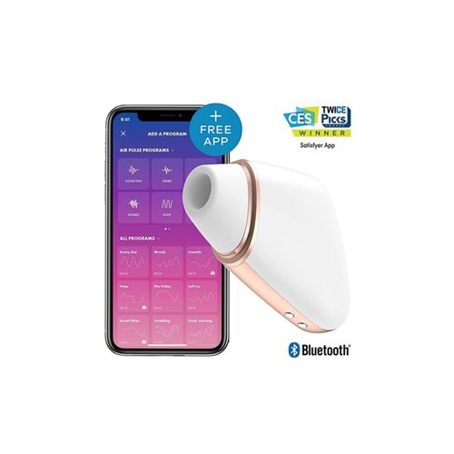 Satisfyer Love Triangle (met Bluetooth en App)