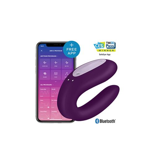 Satisfyer Double Joy (met Bluetooth en App)