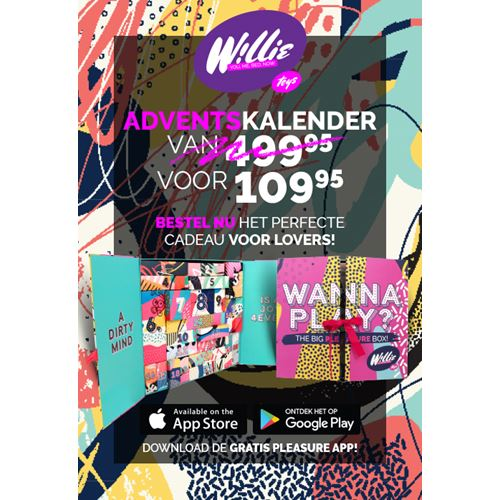 Willie erotische adventskalender Nr. 2 Met Pleasure App
