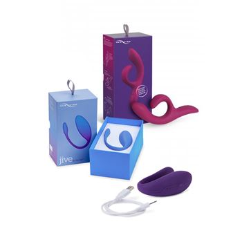 We-Vibe Blended Orgasm Pakket met gratis We-Vibe Unite 2