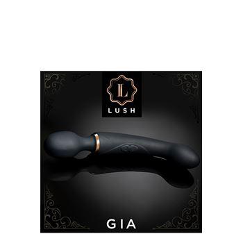 Lush Gia twee-in-een wand massager en G-spot vibrator