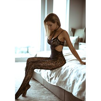 Open kruis bodystocking