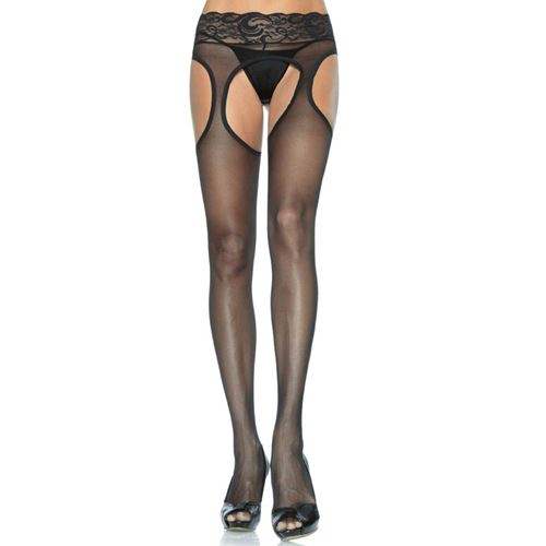 Luxe open kruis strippanty