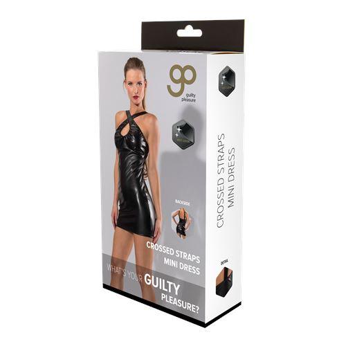 gp-wetlook-crossed-straps-mini-dress-xl