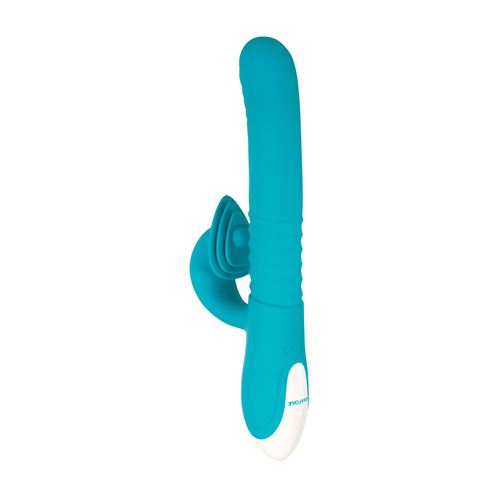 Image of Stotende vibrator met intense clitorisstimulator Evolved