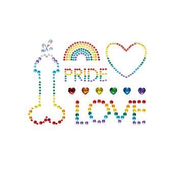 Leg Avenue Pride Body Jewels Stickers