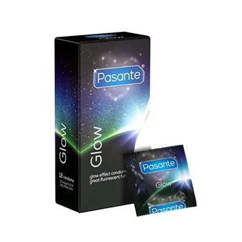 Pasante Glow in the dark condooms 12 stuks