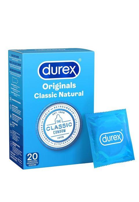 Durex classic condooms 20 stuks