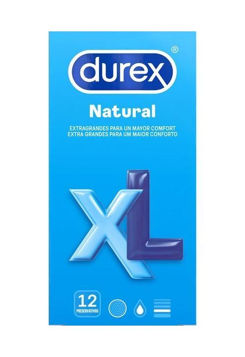 Durex Natural XL Condooms 60 mm - 12 stuks
