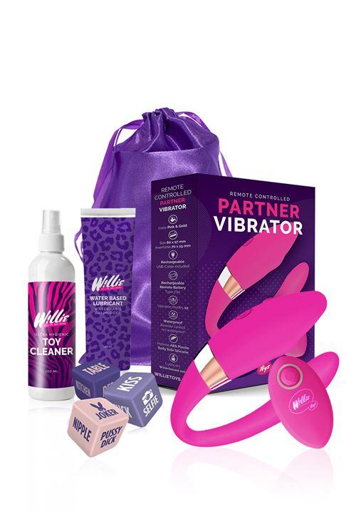 Willie Partner Vibrator Voordeelpakket voor Koppels