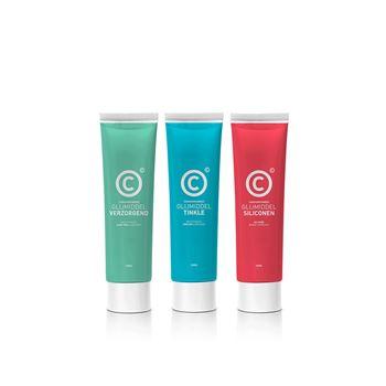 (2+1 gratis) Condoomfabriek Glijmiddel Trio Glide Easy
