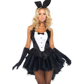 Sexy smoking konijn kostuum