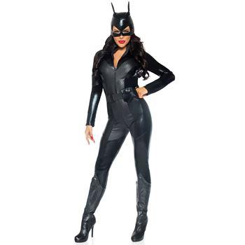 Sexy Kattenvrouw Halloween Kostuum