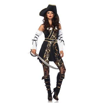 Onweerstaanbare Piraat Halloween Kostuum