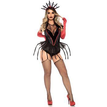 Spinnenkoningin Halloween kostuum