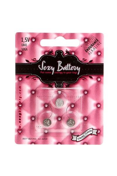 3 x LR41 Batterijen (Sexy Battery)