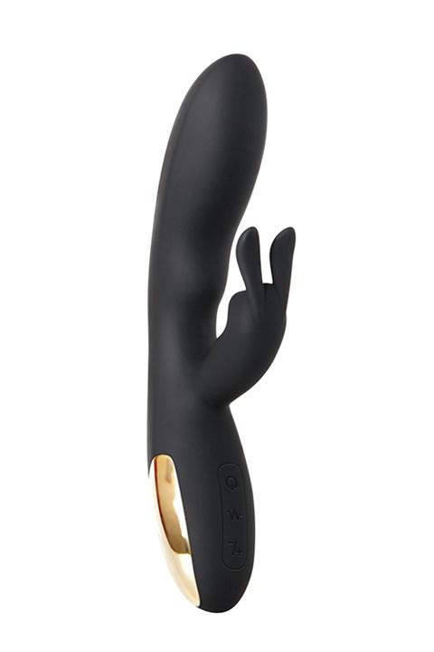 Adam & Eve Midnight Rabbit duo vibrator